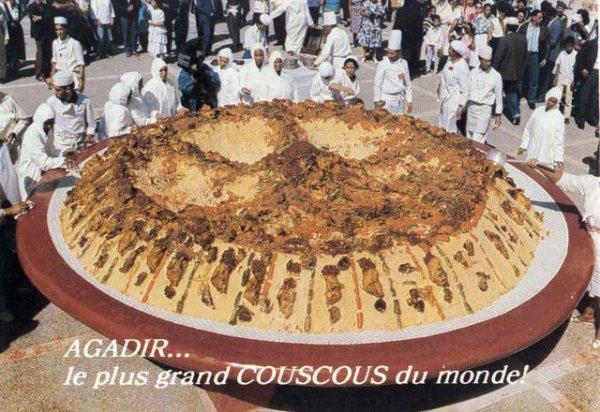Le plus grand plat du couscouse au monde - Le plus grand salon automobile du monde ...