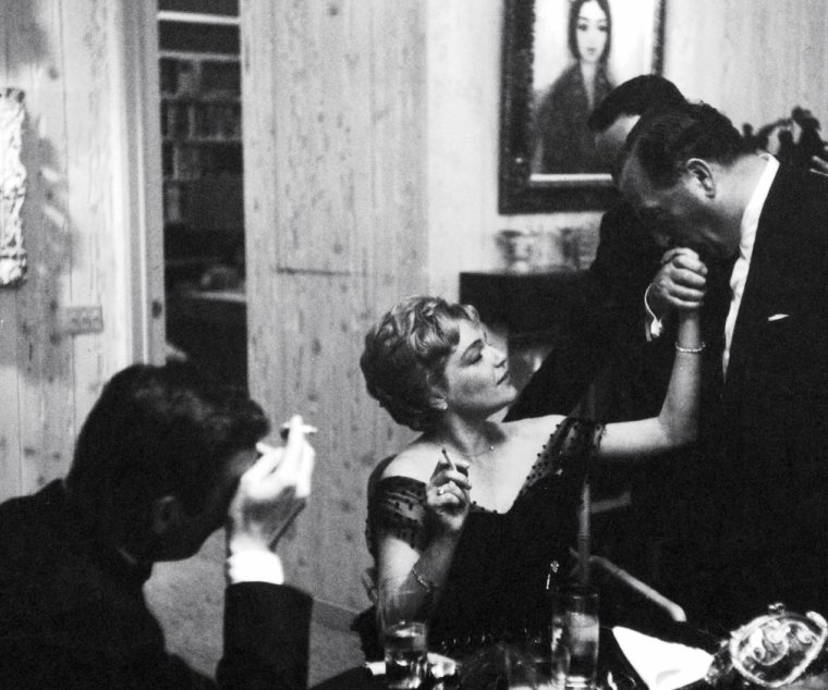 Simone Signoret couple