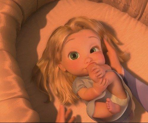 Disney moment rock - Bebe raiponce ...