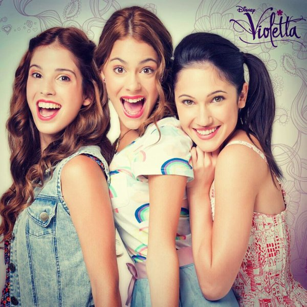 Violetta et ses amis disney toonix - Image de violetta et ses amies ...