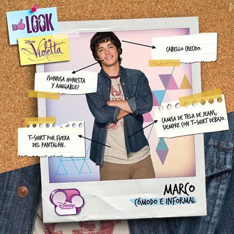 Articles de violetta 97 tagg s look personnages violetta 2 you only live once - Violetta personnage ...