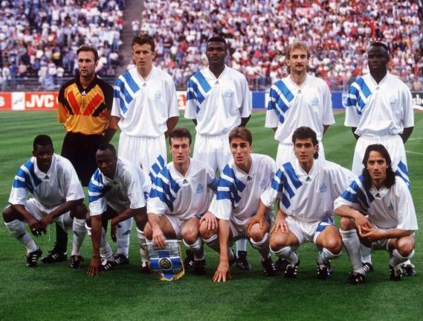 1993 marseille remporte la coupe d 39 europe des club - Coupe d europe des clubs champions 1993 ...