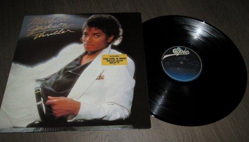 Michael Jackson 33 Tours Quot Thriller Quot Passion Vinyles