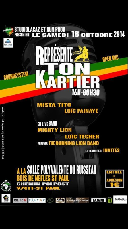MightyLion & Burning LION Concert BDN St Paul