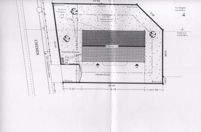 Plan d 39 implantation la construction de notre maison phenix for Plan implantation maison