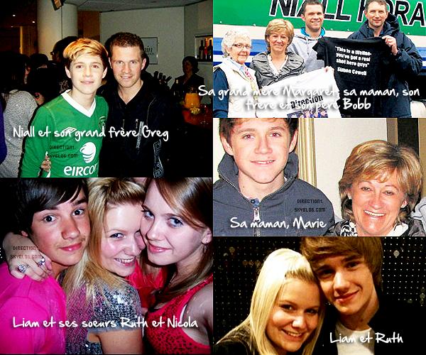 D�couvrez la famille des One Direction