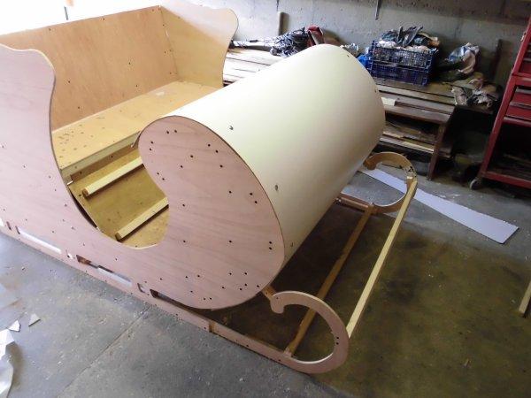 cr ation d 39 un traineau 3d part ii illumination de noel grainville ymauville. Black Bedroom Furniture Sets. Home Design Ideas
