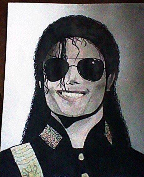 Mon dessin de michael jackson p r sj c so 1958 mo - Dessin de michael jackson ...