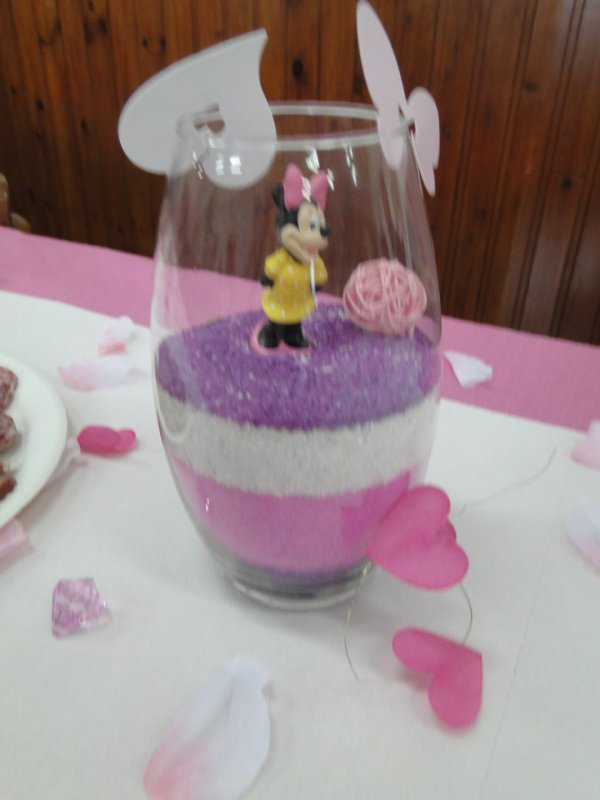 bapteme minnie toutes decorations dragees deco de