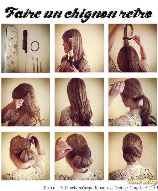 Легкие прически своими руками видео на средние волосы