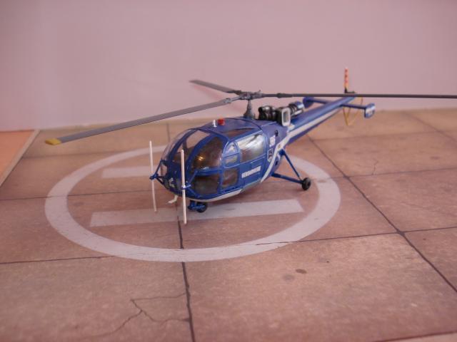 Alouette III - Gendarmerie 1/72e 1626598362