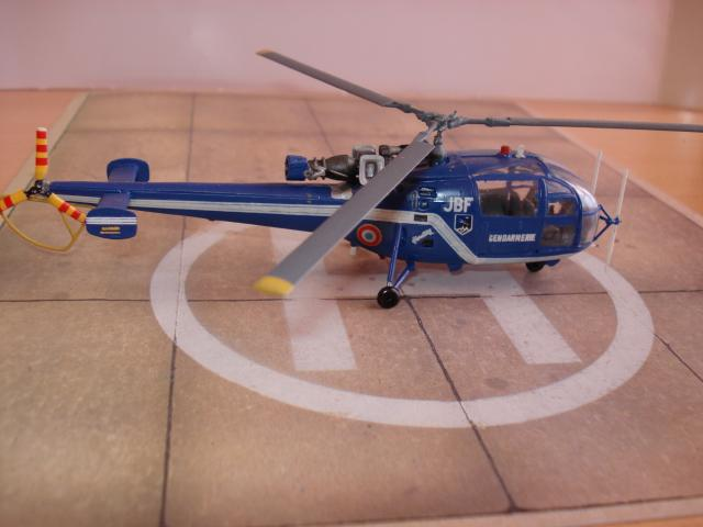 Alouette III - Gendarmerie 1/72e 1626601138