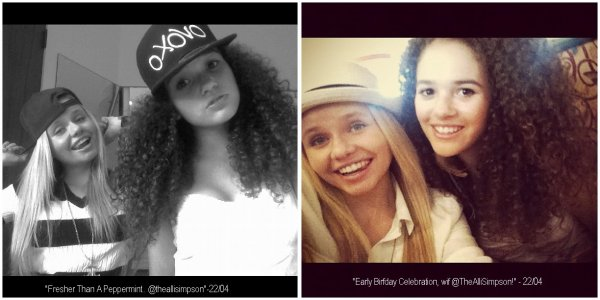 22 Avril 2012 : Madison passe du temps avec sa meilleure amie Alli Simpson, Vid�o + Photos.