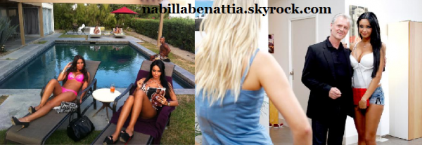 Nabilla � Los Angeles sur le tournage d'Hollywood Girls 2 !