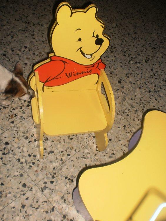 La st nicolas de mehdi et sara je vous aime mes b b d - Table et chaise winnie l ourson ...