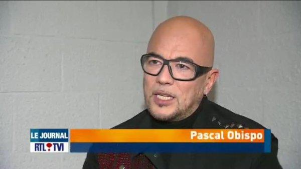 Retrouvez l'interview en vid�o d' @ObispoPascal sur RTL TVI en direct du forest national - Captation du DVD #LeGrandAmourTour