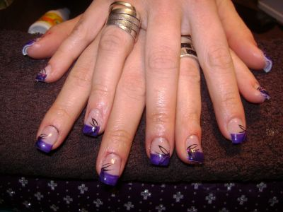 Pose D'ongle en Gel Couleur Pose D'ongles en Gel
