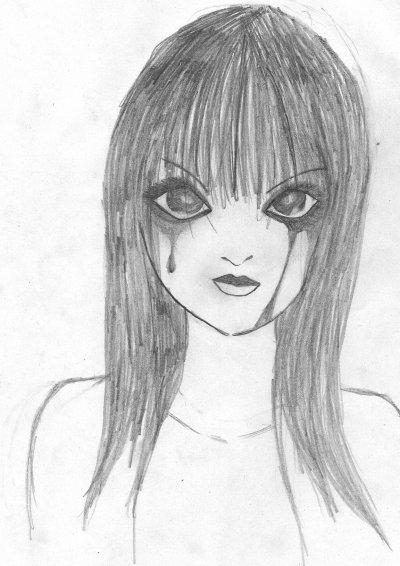 Dessin 10 fille triste qui aime son amour blog de dessin luna - Dessin triste ...