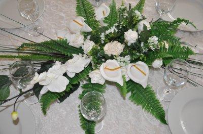 Nouveau Centre De Table Composition Floral Negaffa 64