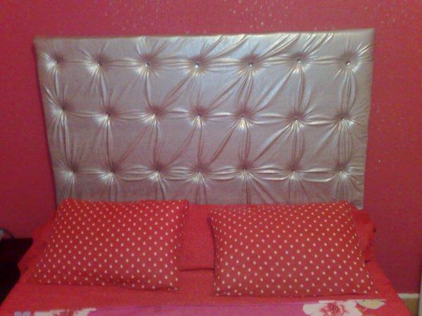 tete de lit argent et strass blog de fleur deco34. Black Bedroom Furniture Sets. Home Design Ideas