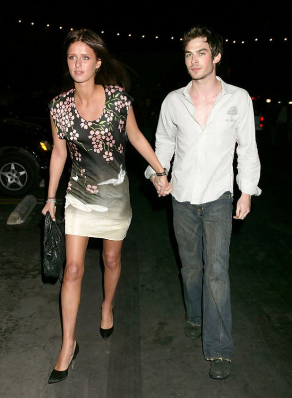 ian dating history Nina dobrev dating history nina dobrev, derek hough dating: nina and ian began dating in late march 2010.