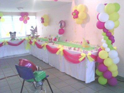 baptême Yn s décoration de la salle de fête Blog de