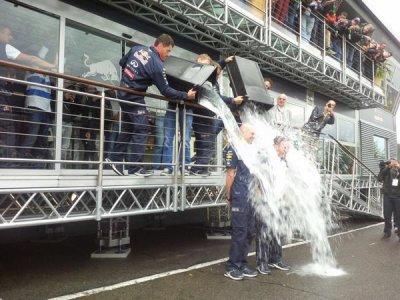 David Coulthard nomin� au Ice Bucket Challenge