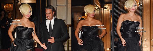 - Lady Gaga et Taylor Kinney pour la fashion Week � New-York de Harper's Bazaar. TOP!