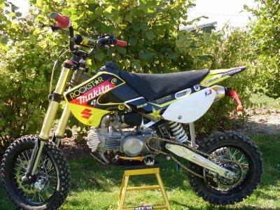 a vendre le mini moto cross