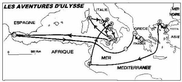rencontre d'ulysse et le cyclope Le Port