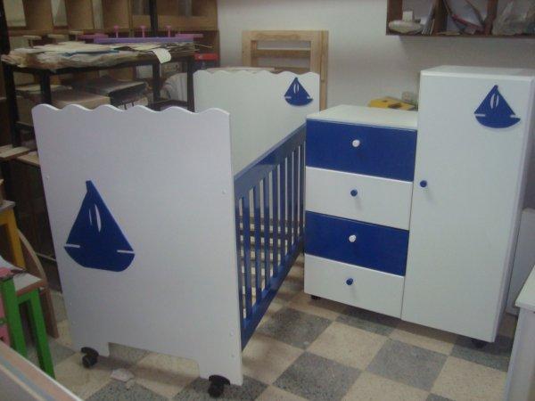 Chambre b b marin le monde de la miniature - Chambre enfant marin ...