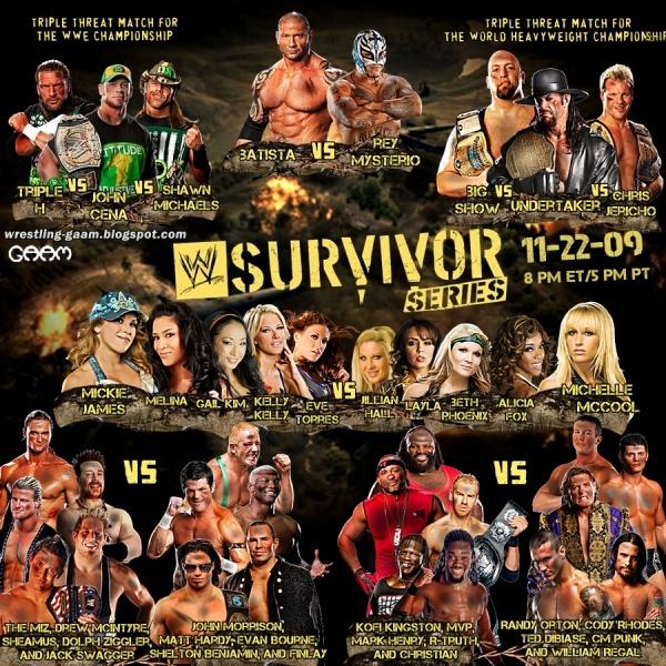 gallery wwe survivor series 2009