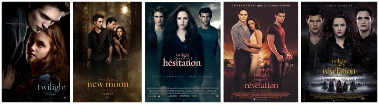 'Twilight - Chapitre 1 : Fascination'
