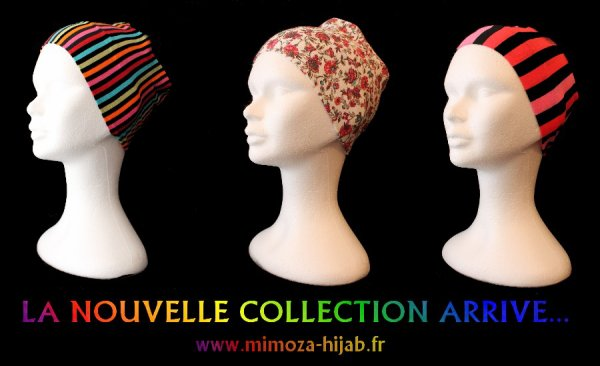 La Nouvelle Collection ARRIVE sur www.mimoza-hijab.fr