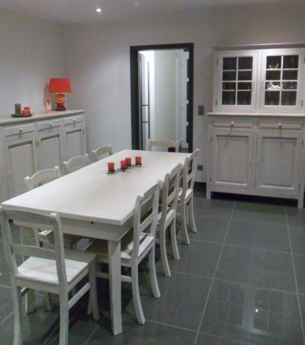 Blog de nouvelletendancemobilier nouvelle tendance mobilier - Salle a manger complete blanche ...