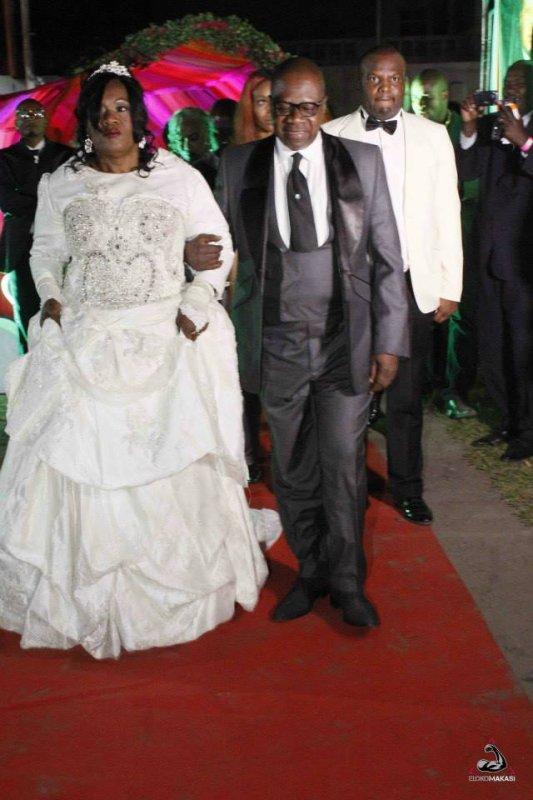 Jossart Nyoka Longo et Zaiko Langa Langa prestent au mariage de Papa Wemba