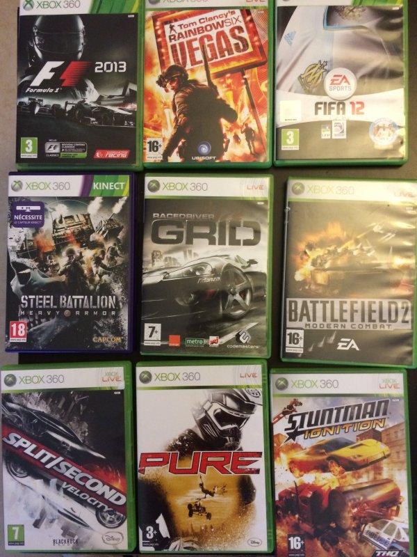 Xbox 360 + Manette + Jeux