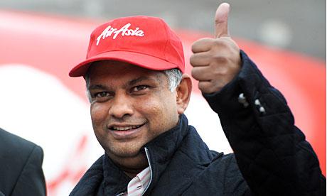 Le PDG d'Air Asia vend des parts d'actions avant le drame