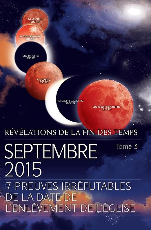 L'Apocalypse d�butera en septembre 2015 selon un auteur ( 600 �me article ) !
