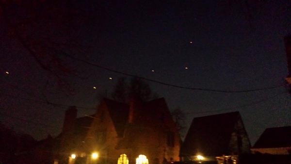 Il observe plus de 35 OVNI en Pennsylvanie