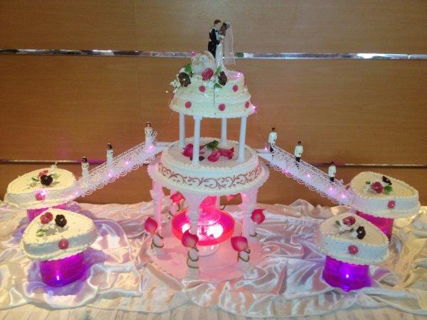 mariage pièces montée - Blog de gateaux-antillais