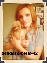Photos exclu de bella thorne d'hier !