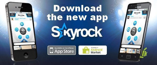 Skyrock.com on your cell!