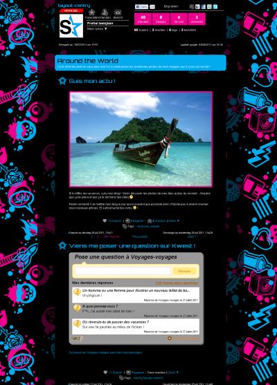 Ontdek nu je nieuwe blog & profiel!