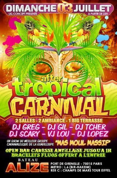 AFTER TROPICAL CARNAVAL