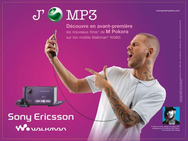 M.Pokora et Sony Ericsson !