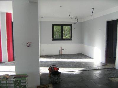 Peinture cuisine construction maison moderne for Peinture cuisine gris