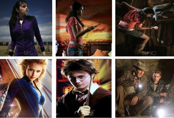 Les quatre fantastiques harry potter indiana jones - Harry potter et les portes du temps bande annonce ...