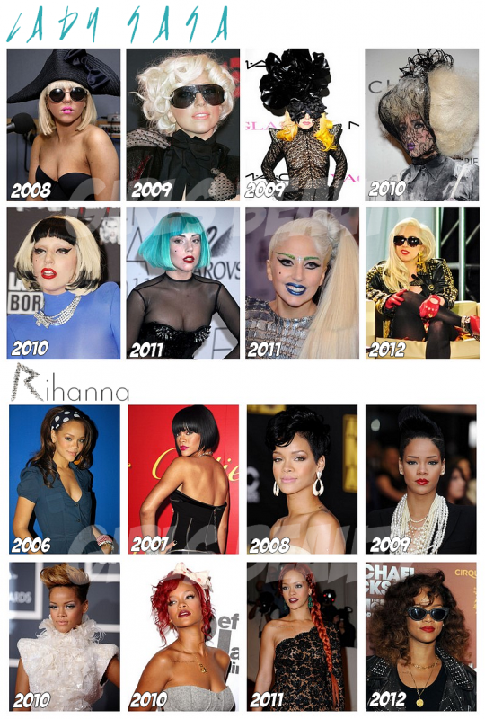 people   quelques cv beaut u00e9 de stars  lady gaga  rihanna