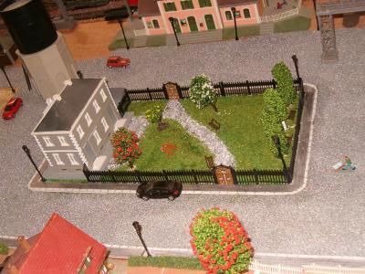 Le d cor jardin public le petit train ho - Petit jardin public lettres besancon ...